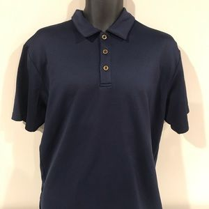 Nike Fit Dry Polo Large Navy Blue